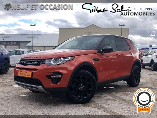 Land-Rover Land-Rover Discovery Sport  2.0 TD4 180ch AWD HSE BVA Mark I